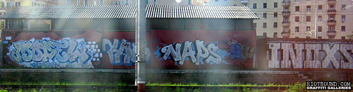 Graffiti By The Tracks