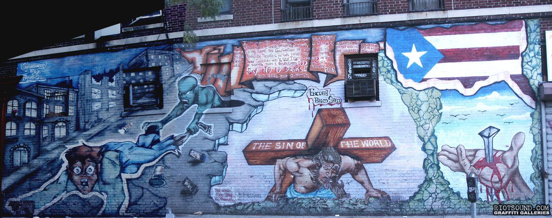 Graffiti Mural Bronx