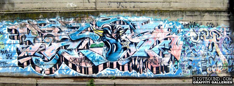 Highway Art In Rome
