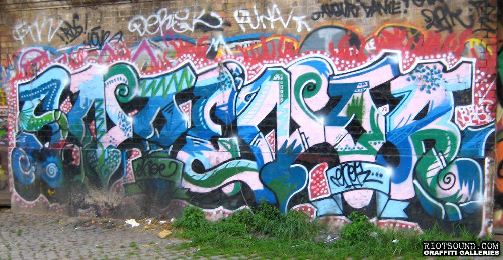 Italiano Wildstyle Graffiti