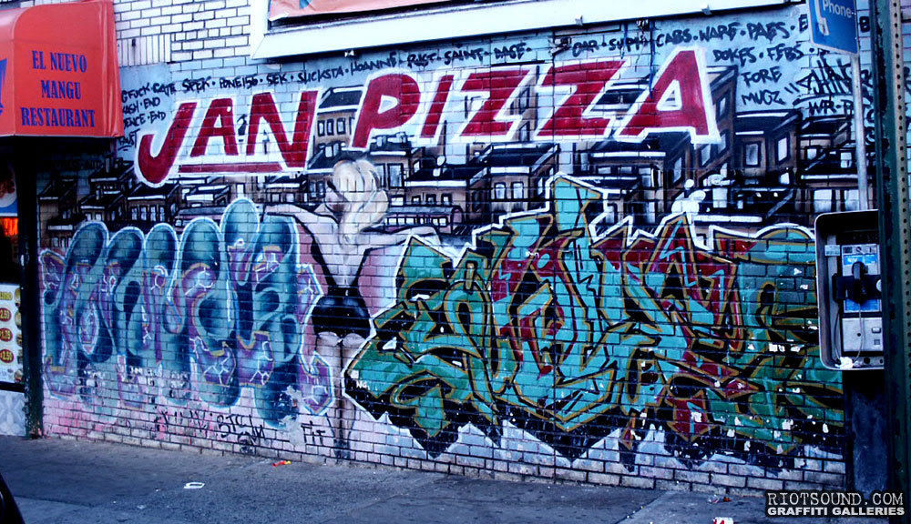 Jan Pizza Graffiti