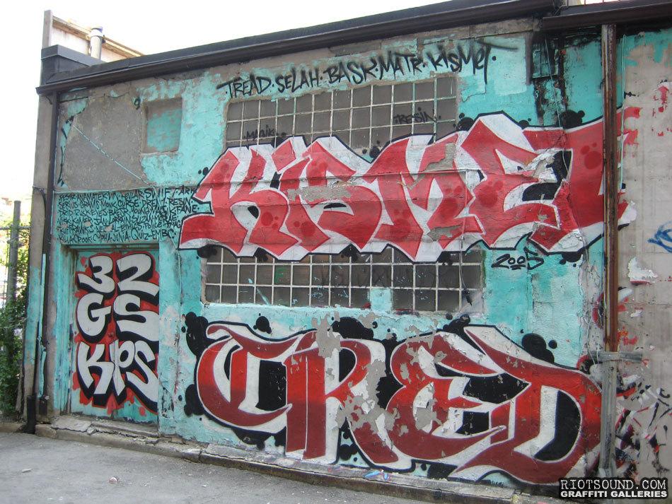 KISMET Graffiti