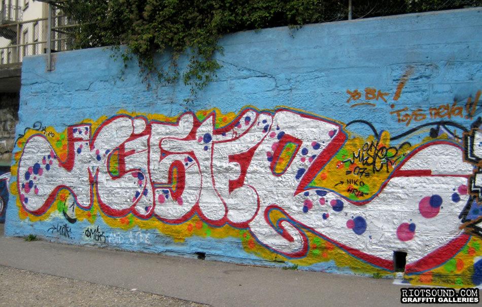 Mister Graffiti Zurich
