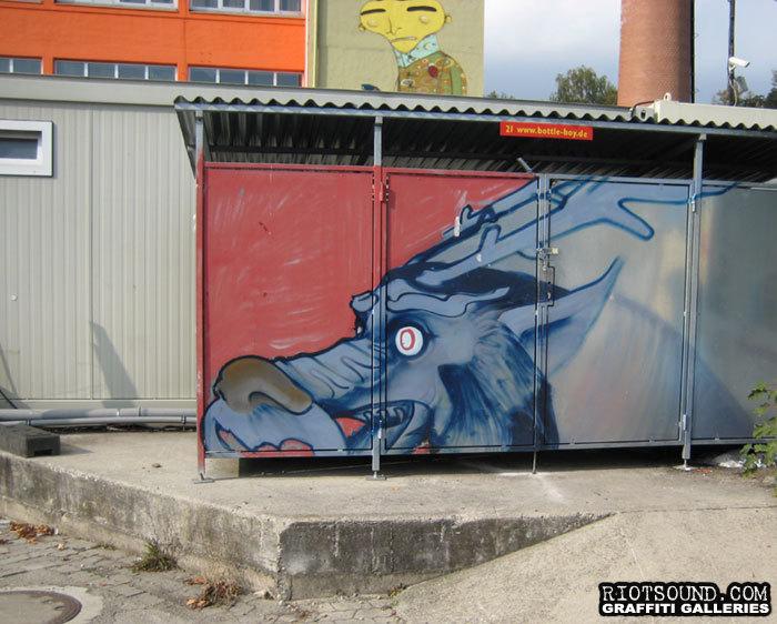 Munchen Deutschland Aerosol Art