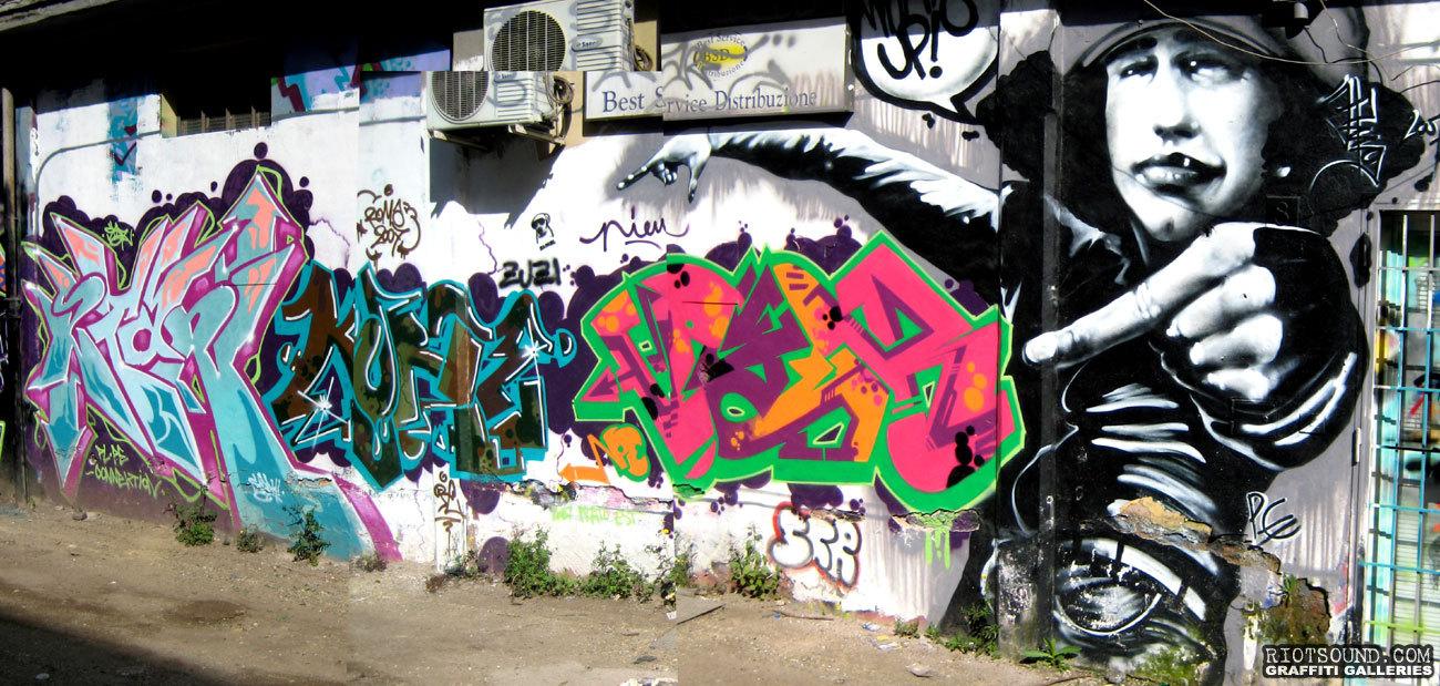 Mural In The Street