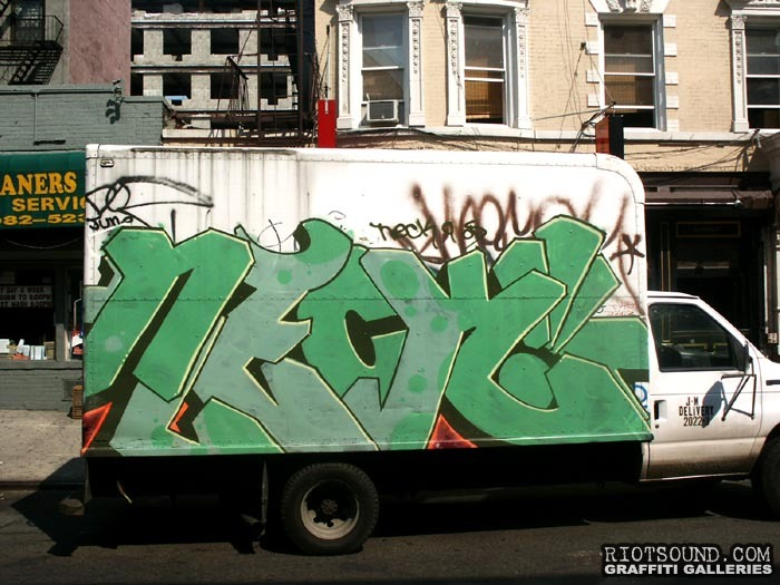 Neck Graffiti Truck