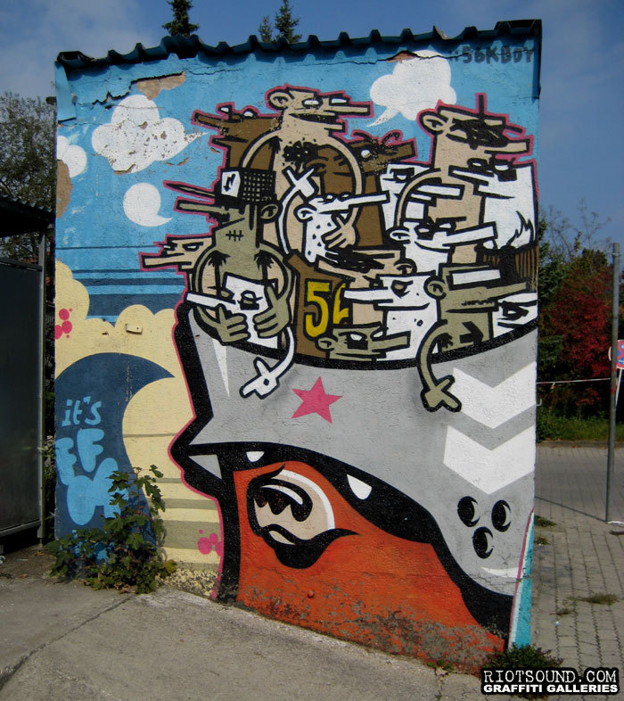 Outdoor Art Mural