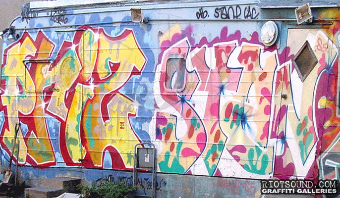 PRIZ STAN TS5 Graffiti