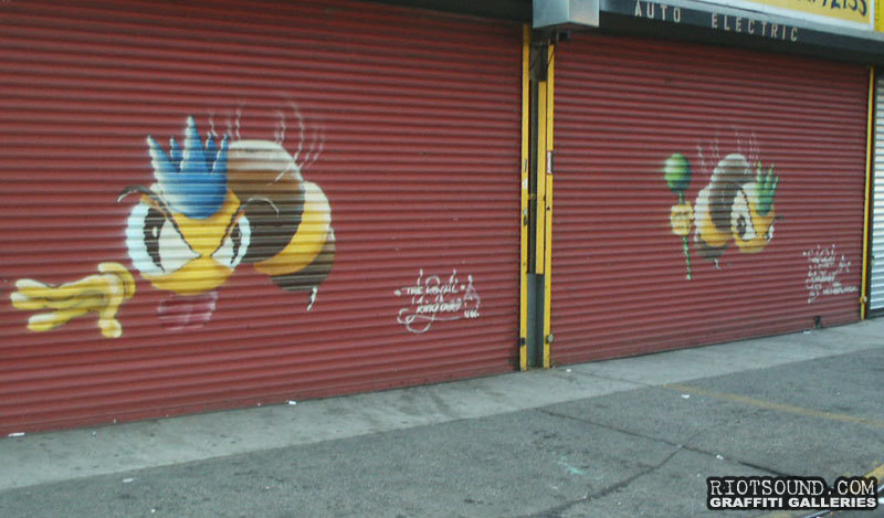 Queen Bee Graffiti