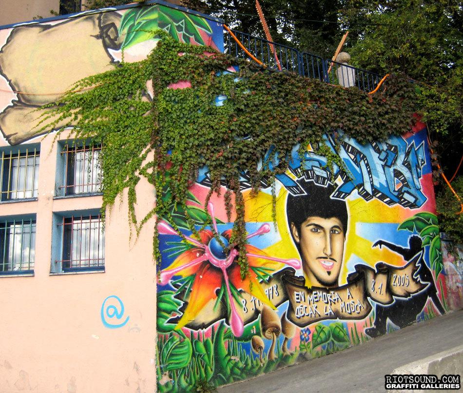 RIP Mural Zurich