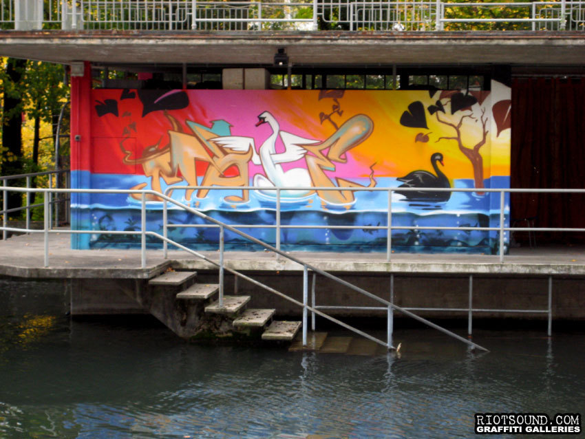 Riverfront Mural