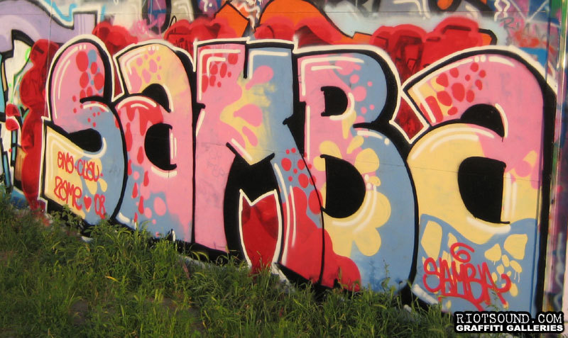 SAMBA Graffiti Rome