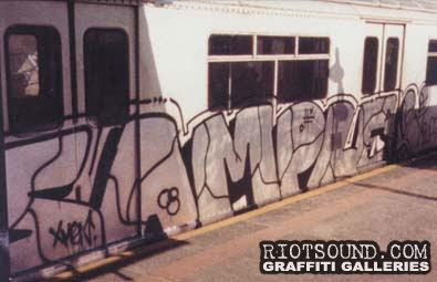 SAMPLE XMEN Graffiti
