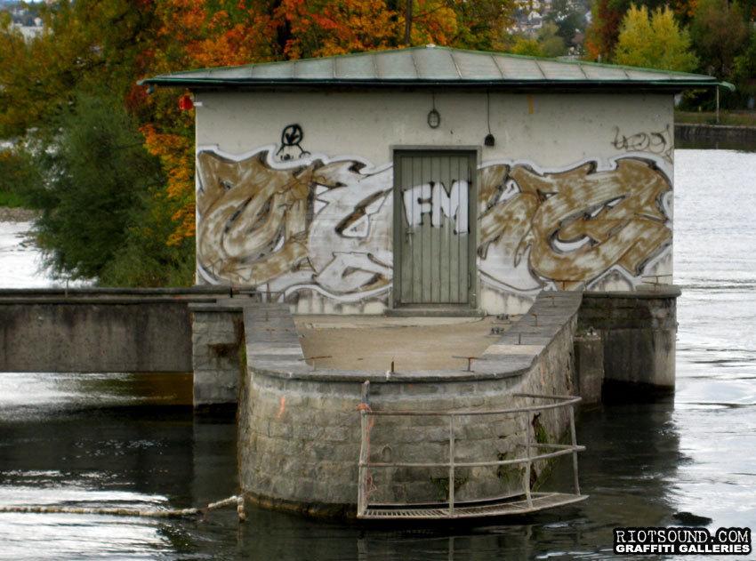 Schweizer Graffiti Burner