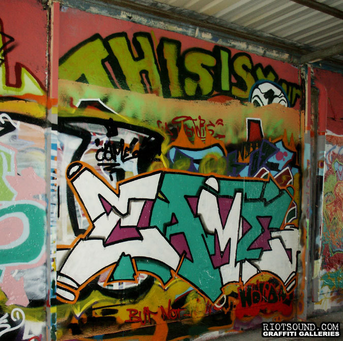 Street Aerosol Art