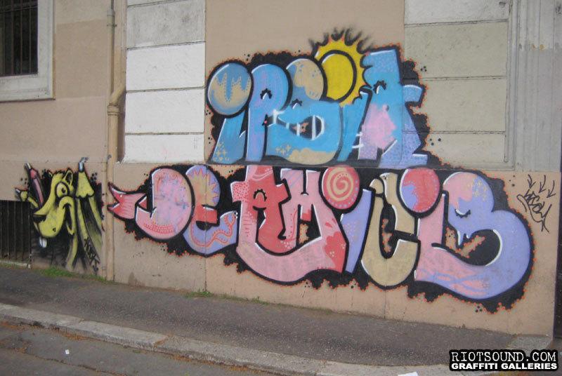 Street Aerosol Art1