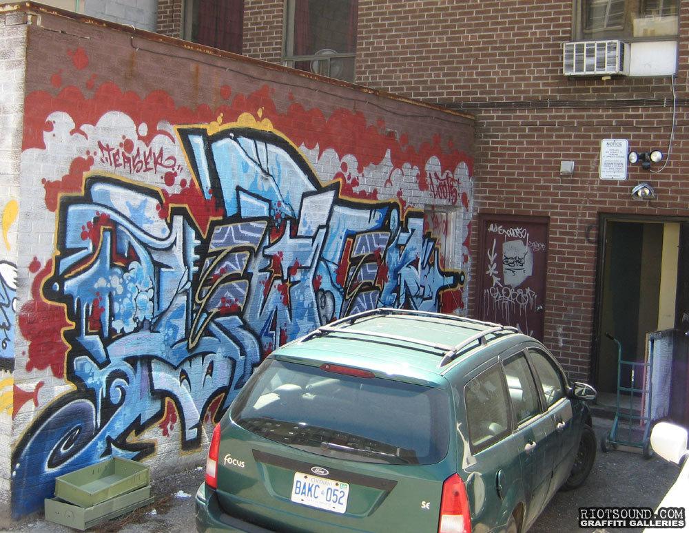 TEASER Graffiti Art