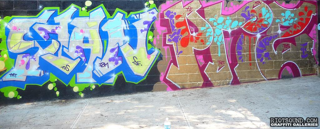 The Spanish 5 Graffiti