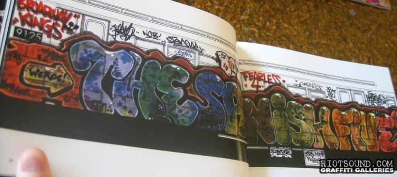 The Spanish Five Blackbook Art