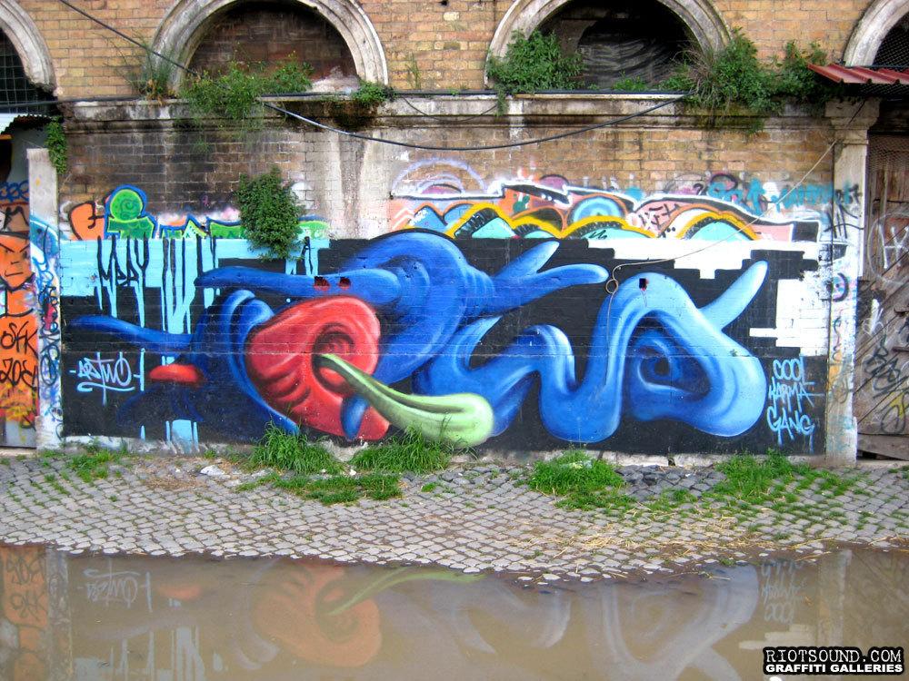 Three Dimensional Graffiti