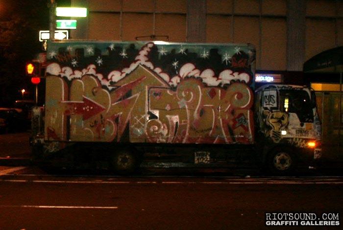 Truck Graffiti 06