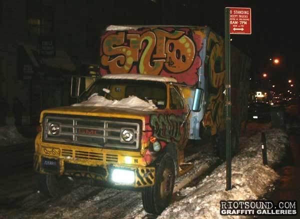 Truck Graffiti 10