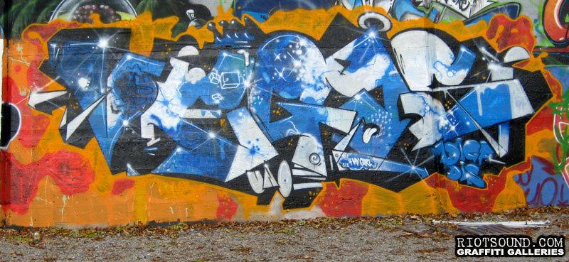Vegas Zurich Graffiti
