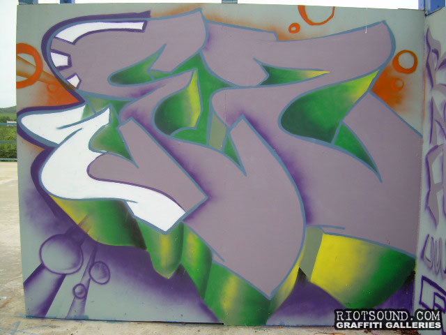 WEZ Graff Piece