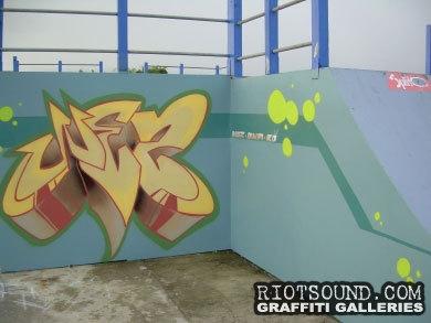 WEZ Skate Park Piece