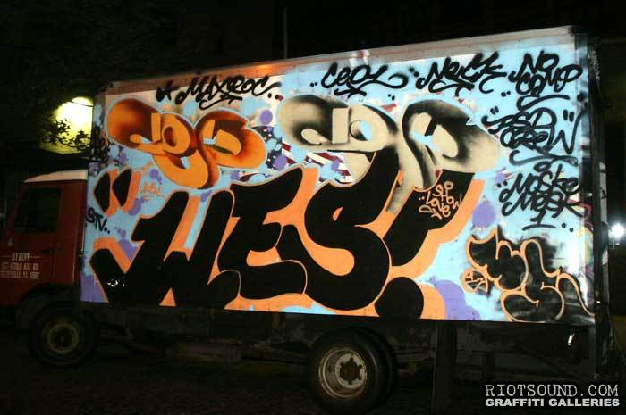 Wes Graffiti