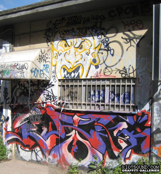 Wildstyle Graffiti In Rome