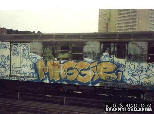 Window Down Graffiti Piece