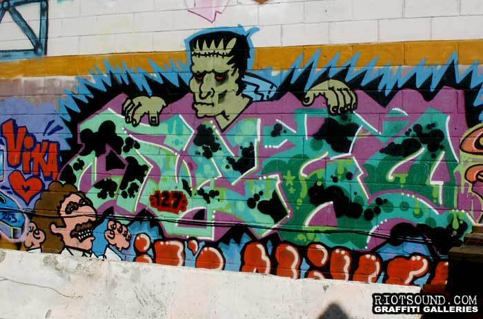 cartoon Graffiti116