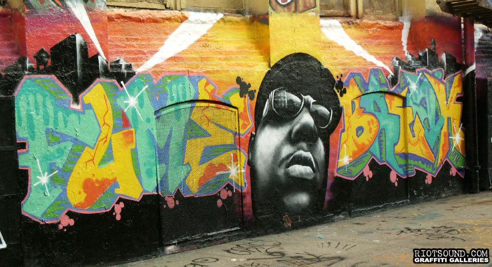 15 Notorious BIG Mural