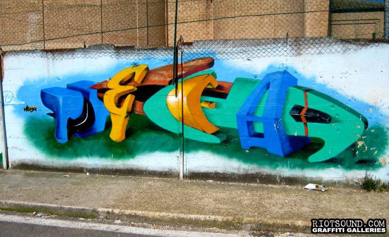 3D Graffiti Burner