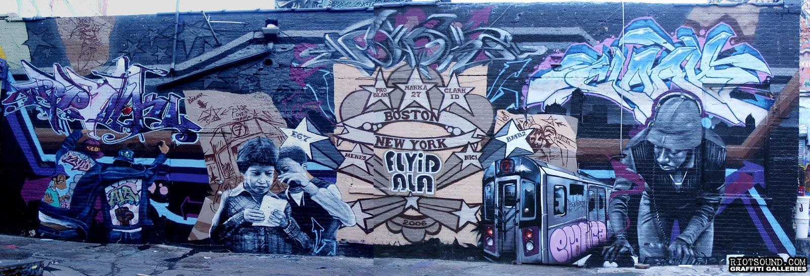 47 Graffiti Hip Hop Mural