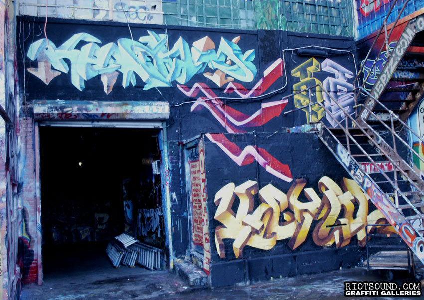 48 3D Graffiti