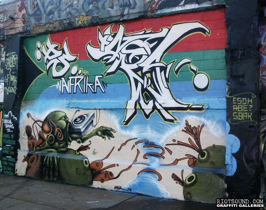 58 Graff Mural