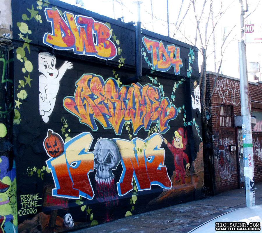 59 Resume Graffiti