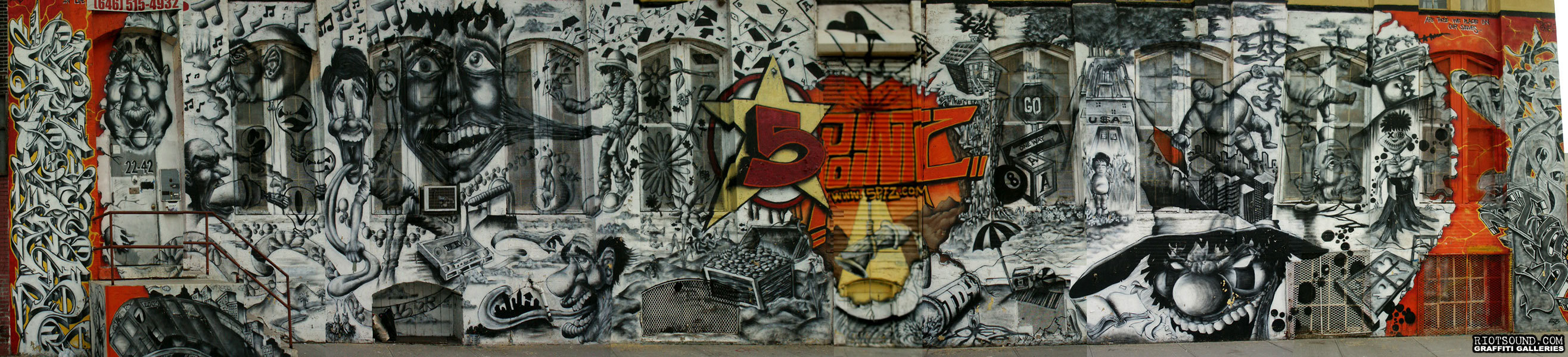 5 pointz outside