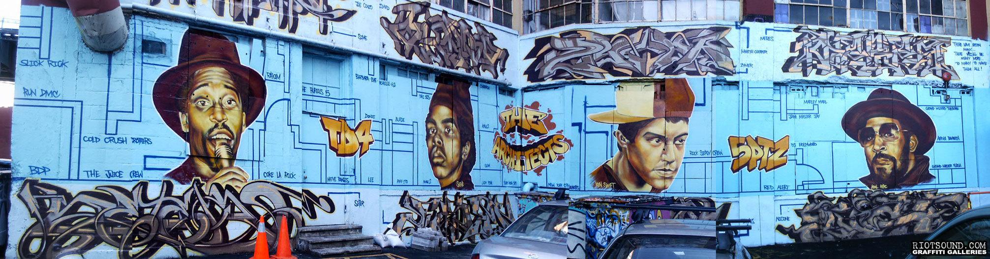 64 Hip Hop Tribute Mural