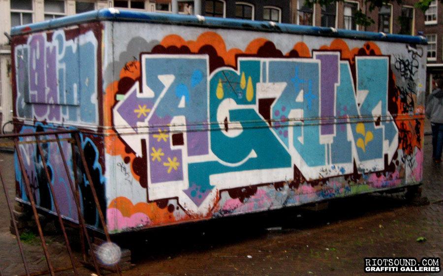 AGAIN Graffiti Art