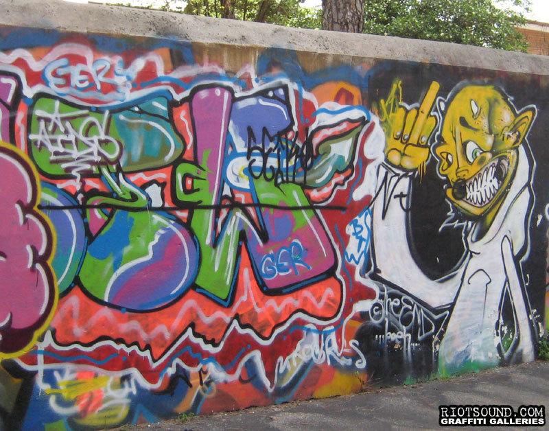 AIDS Graffiti Art