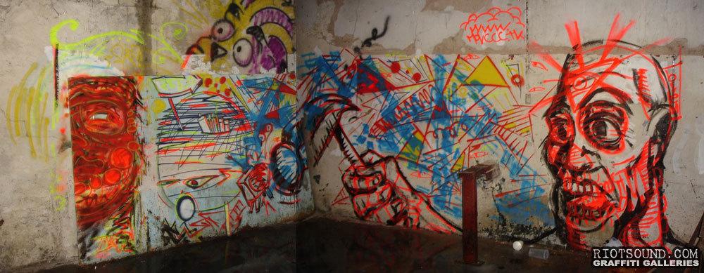 Abstract Street Art Argentina