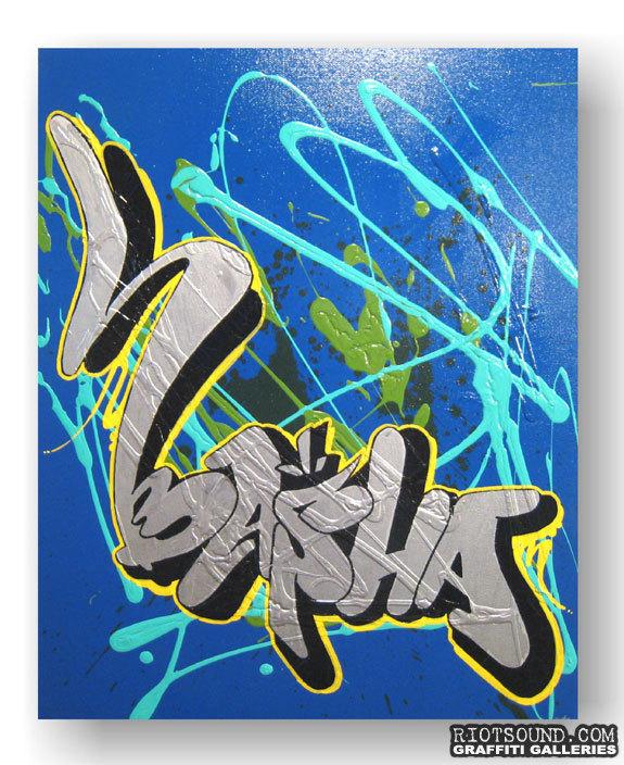 Aerosol Art Canvas