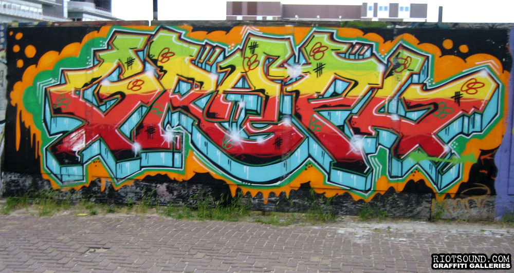 Amsterdam Graffiti Burner