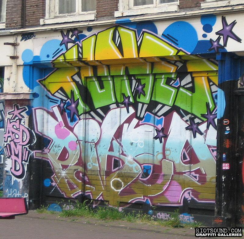 Amsterdam Spray Can Mural