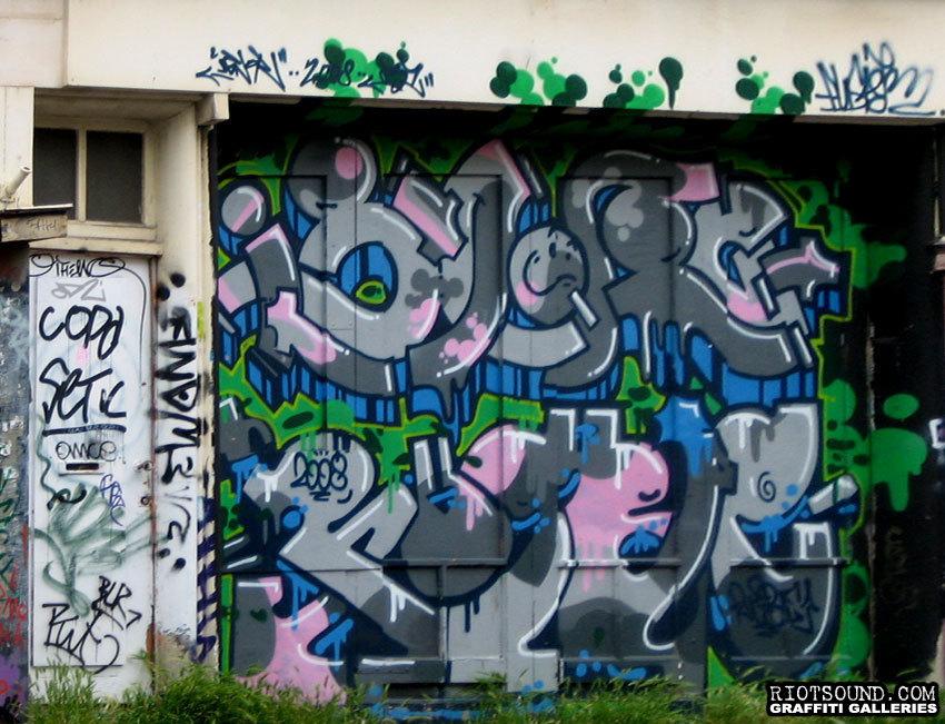 Amsterdam Spray Paint Art
