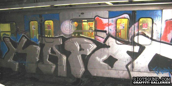 Art In Rome Subway