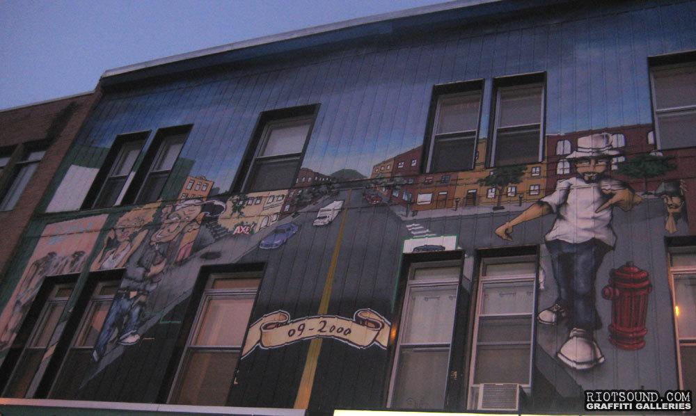 Art On Building Facade